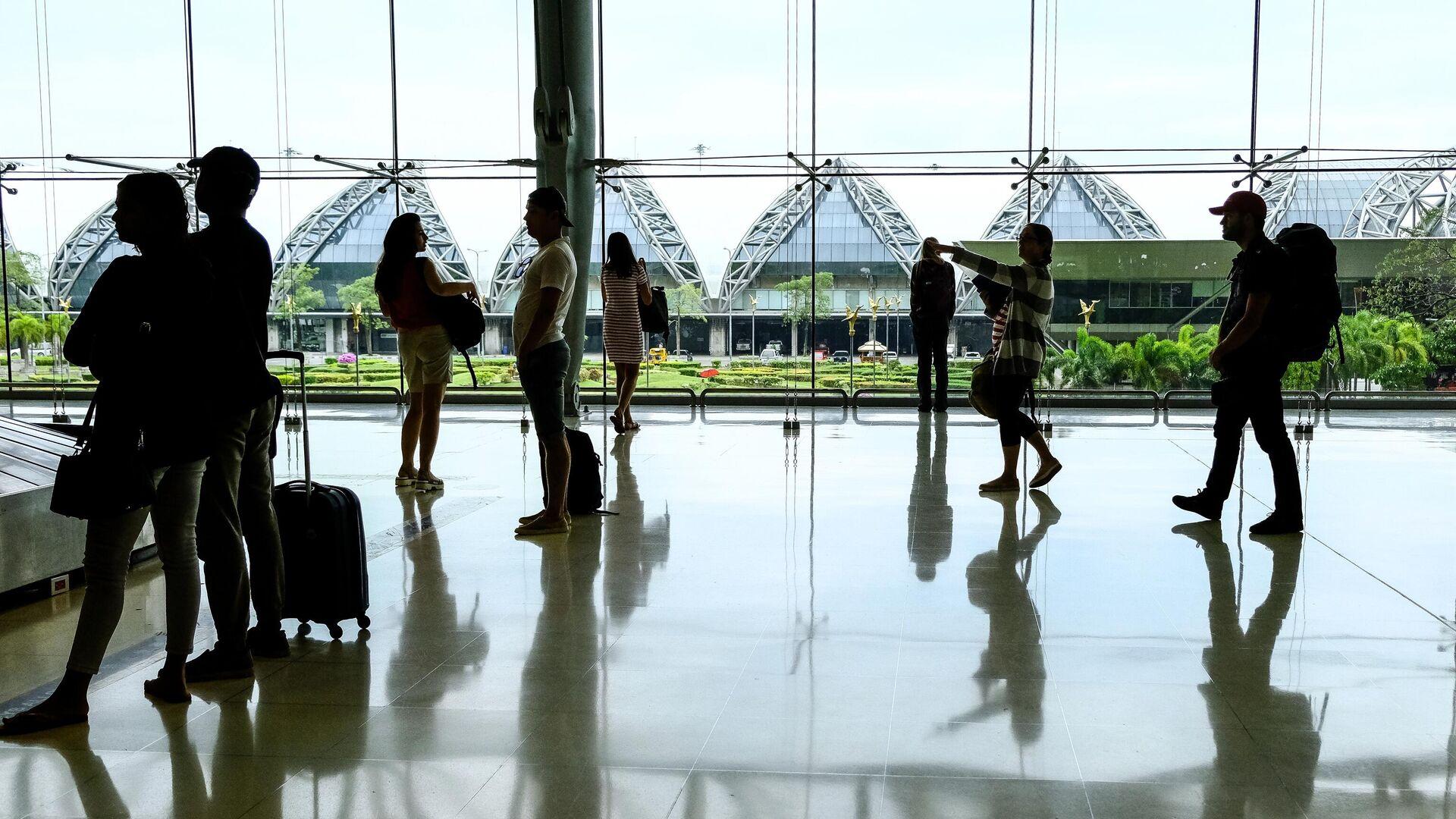 В международном аэропорту Суварнабхуми в Бангкоке - РИА Новости, 1920, 25.01.2021