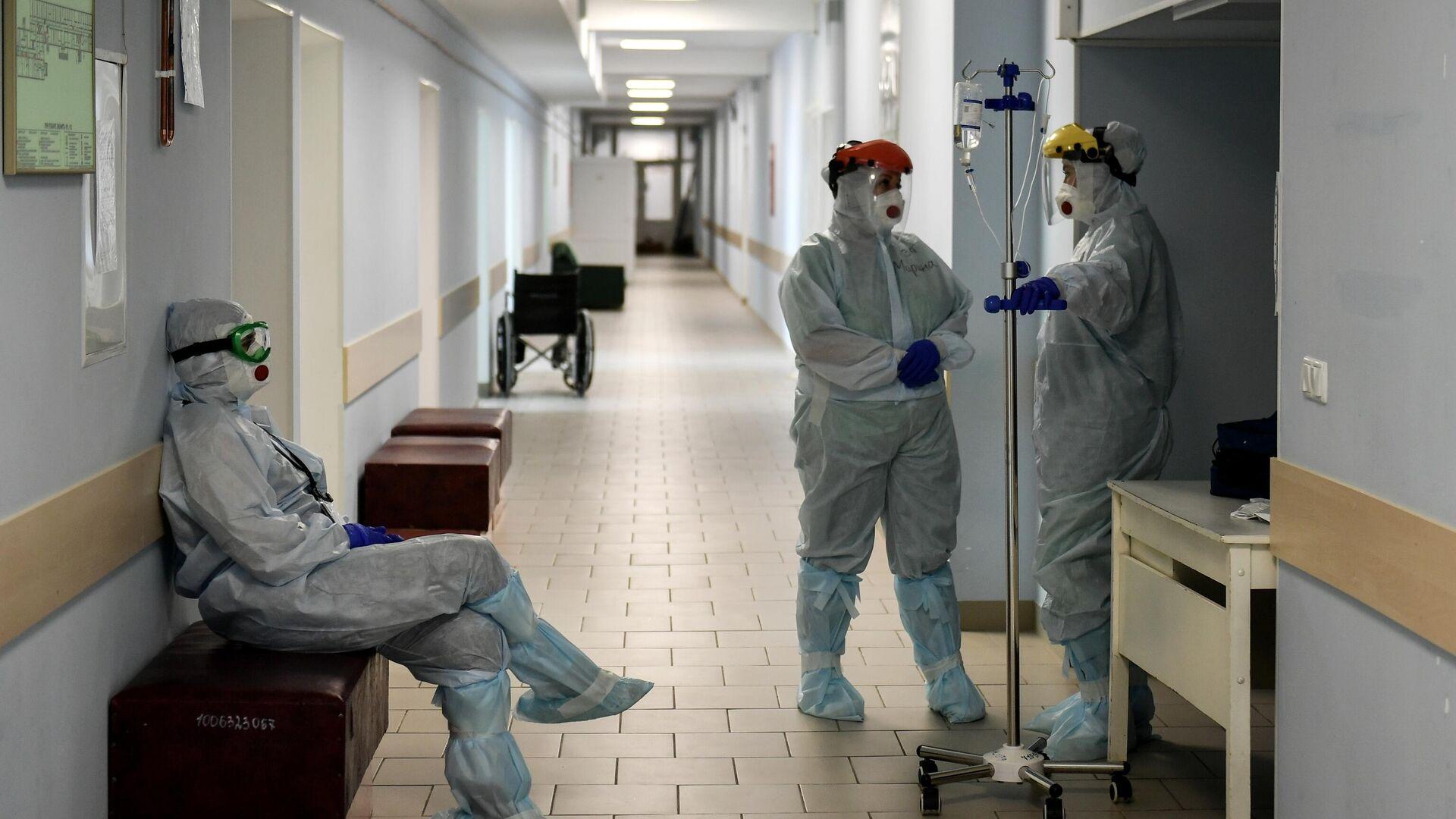 В Москве десять больниц для пациентов с COVID вернутся к обычному режиму -  РИА Новости, 03.02.2021