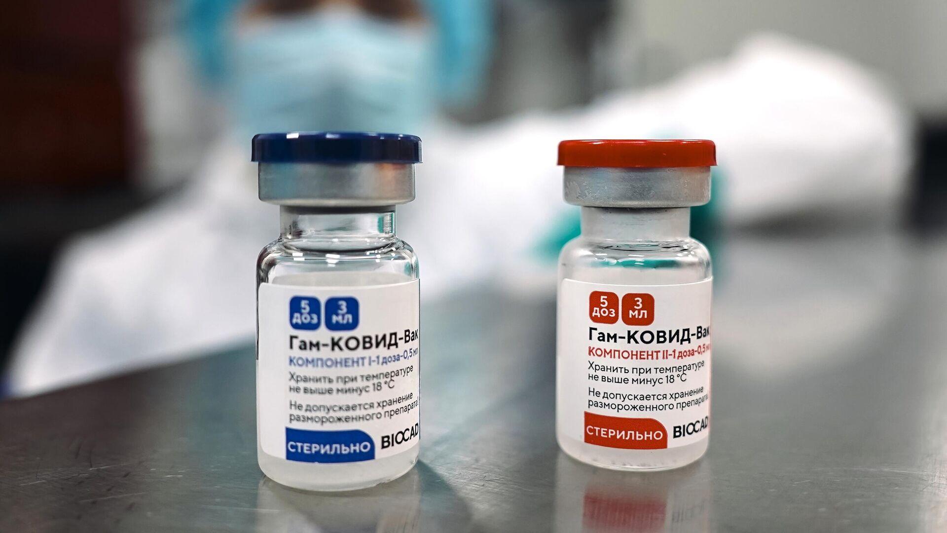 Производство российской вакцины против COVID-19 Спутник V - РИА Новости, 1920, 05.02.2021