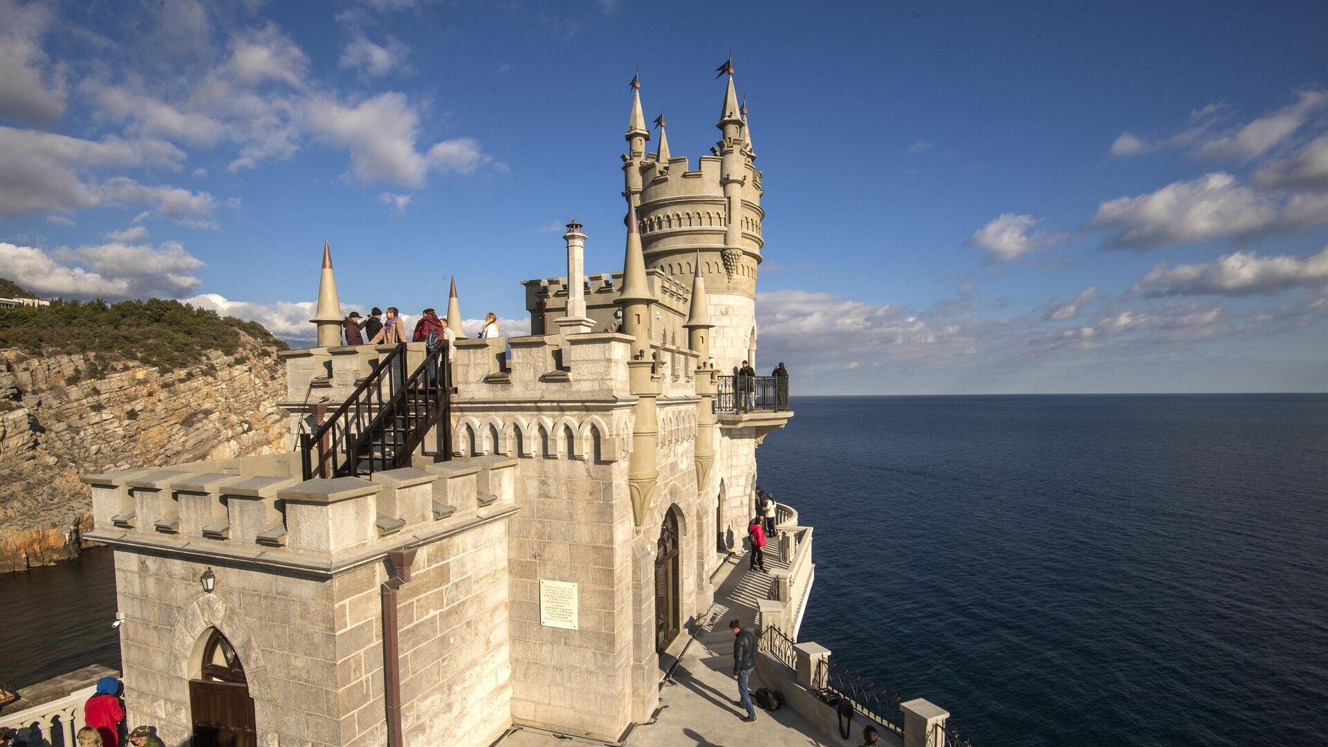 Дворец-замок Ласточкино гнездо в Крыму - РИА Новости, 1920, 27.02.2021