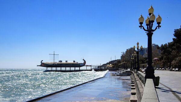 На набережной Ялты в Крыму