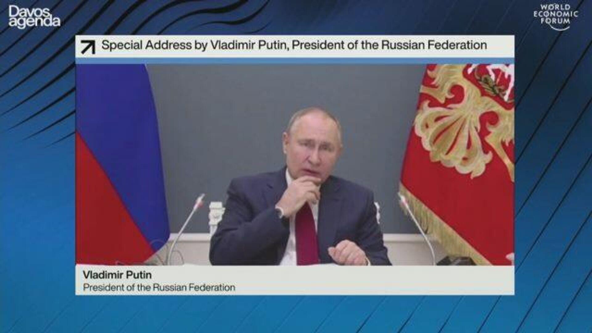 Путин: Наша общая ответственность – избежать перспективы, похожей на мрачную антиутопию - РИА Новости, 1920, 27.01.2021