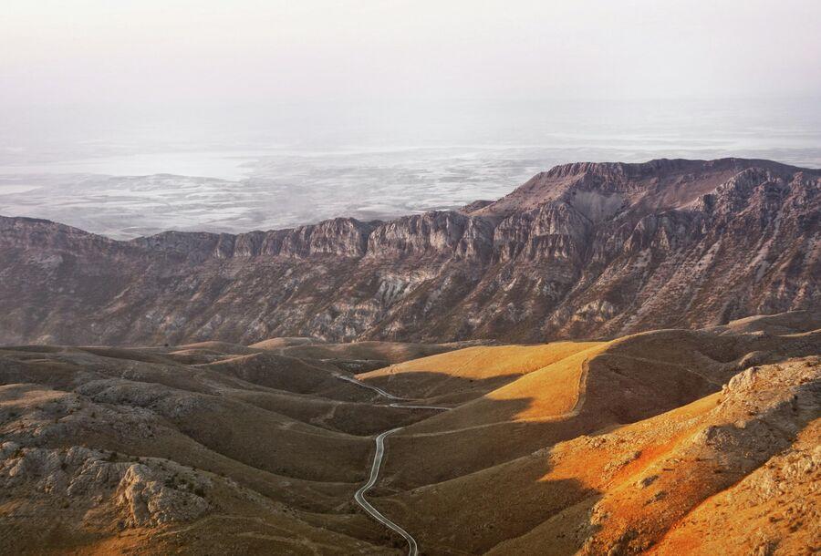 Дорога к горе Немрут, Турция
