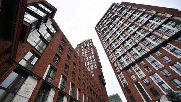 Новый жилой комплекс Невский по улице Адмирала Макарова в Москве