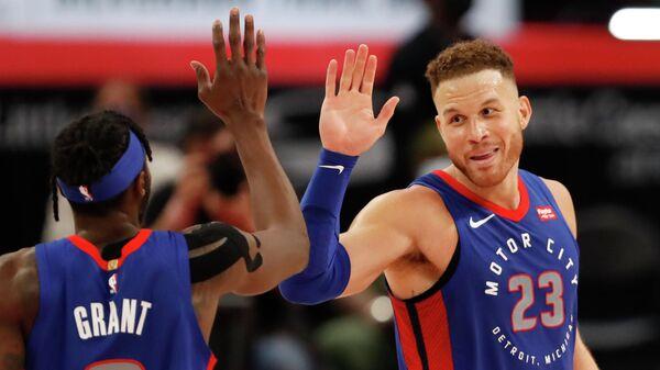 Баскетболисты Детройта