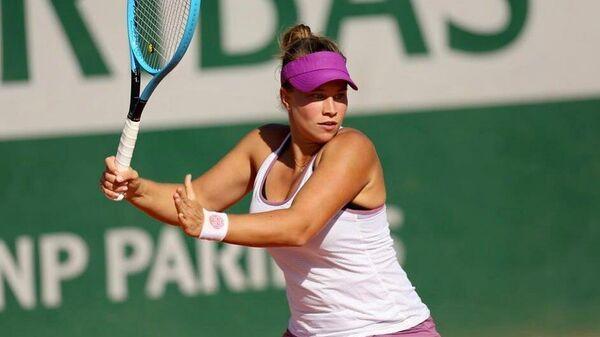 Российская теннисистка Валерия Савиных