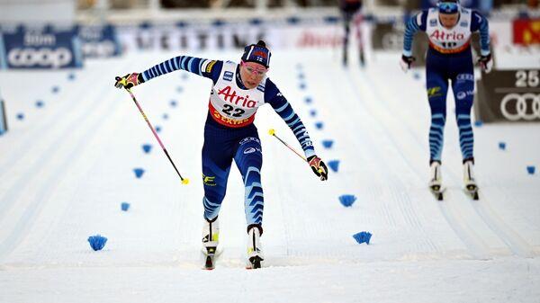 Финская лыжница Керрту Нисканен