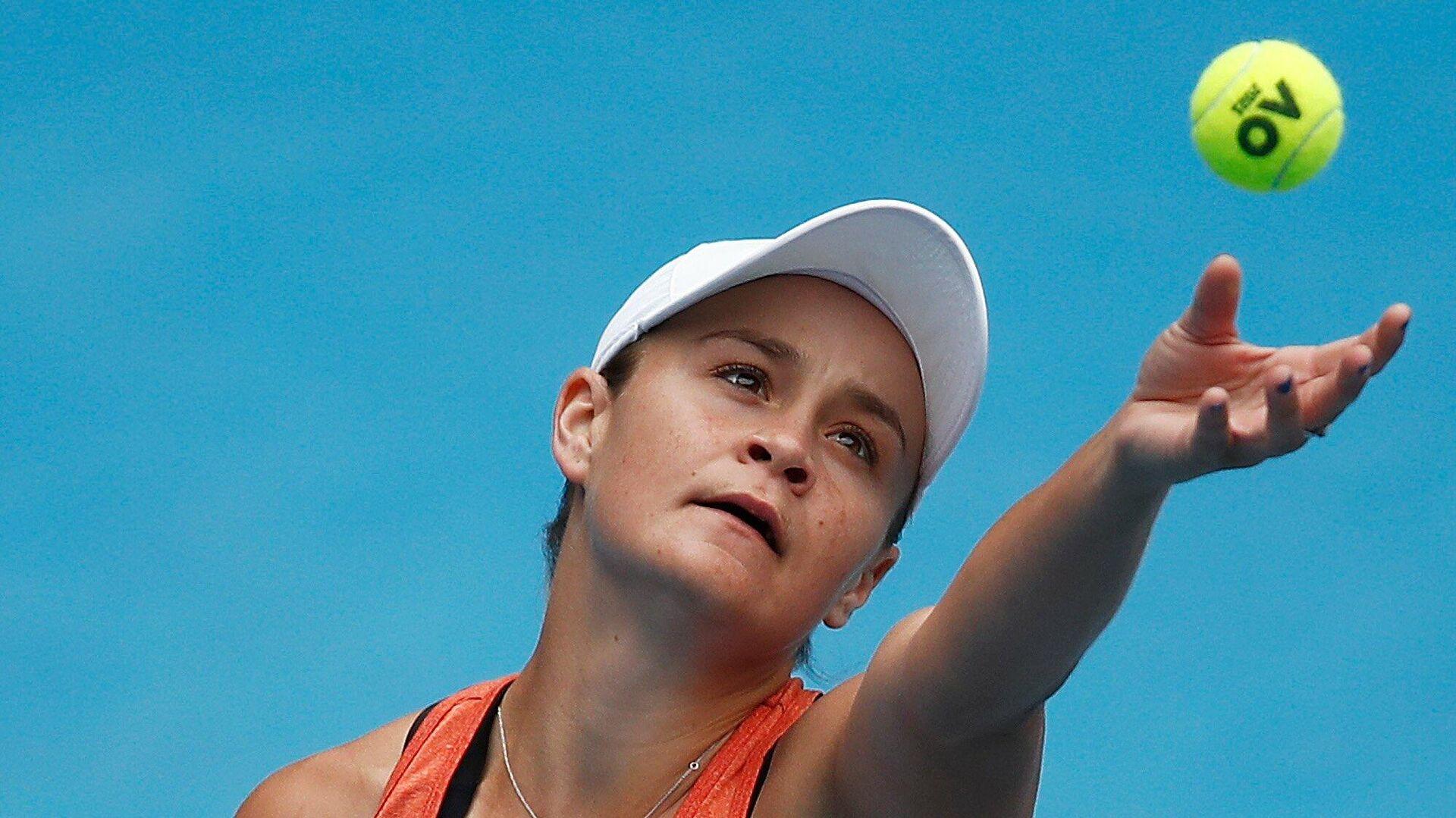 Австралийская теннисистка Эшли Барти - РИА Новости, 1920, 23.04.2021