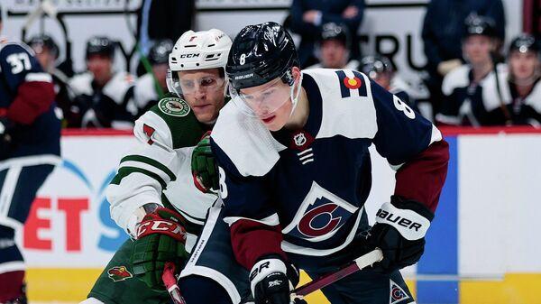 Матч НХЛ между Колорадо Эвеланш и Миннесота Уайлд
