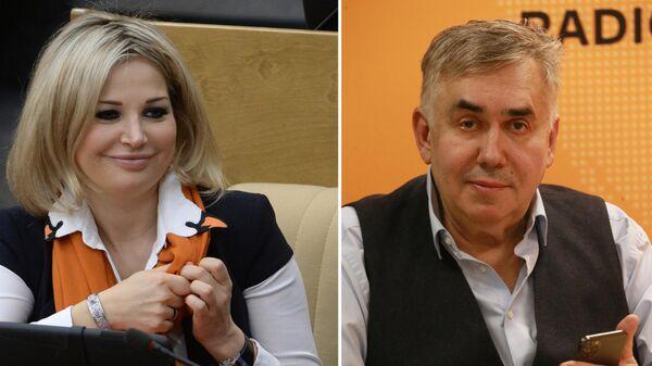 Мария Максакова и Станислав Садальский