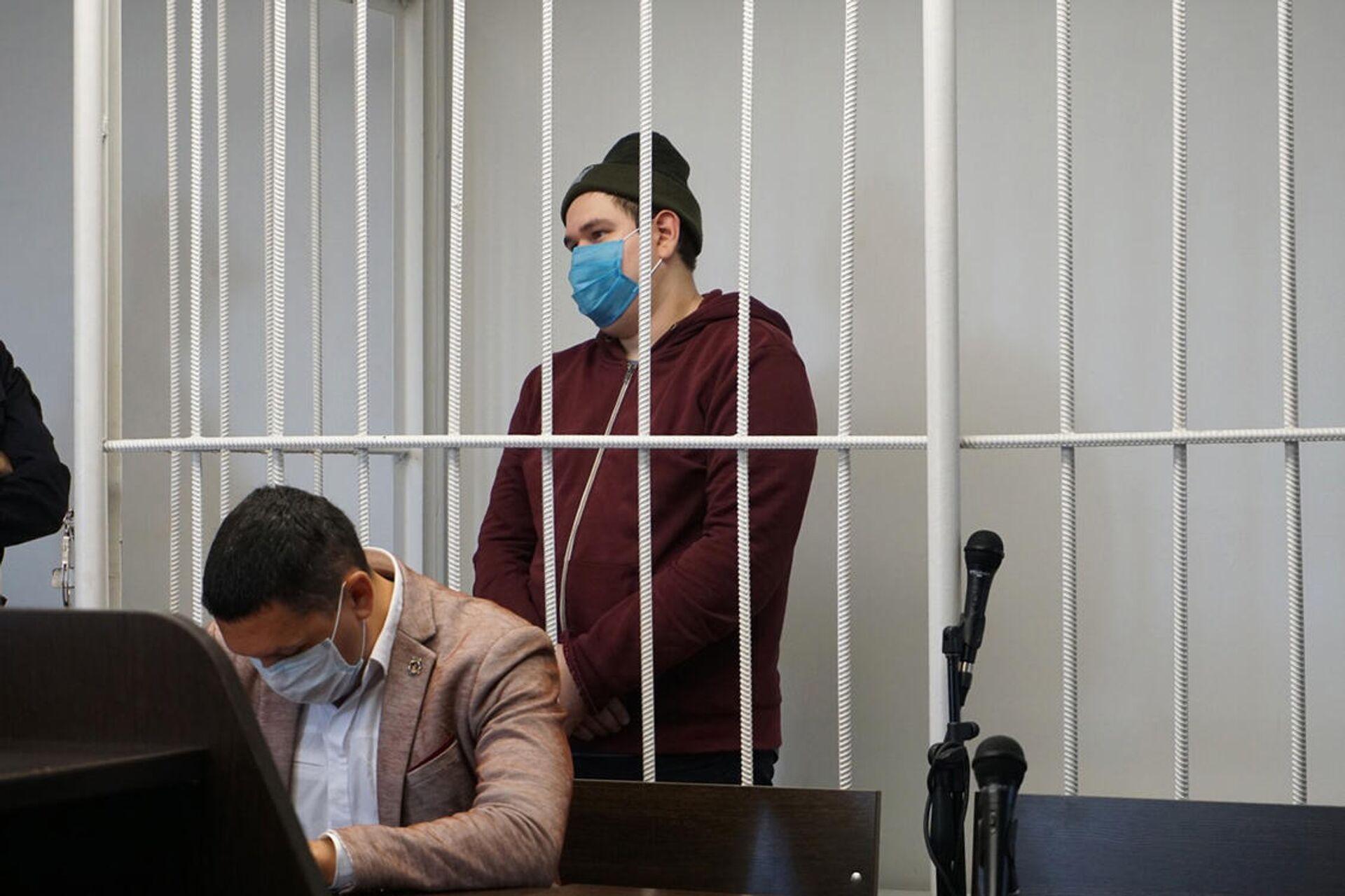 Суд над Рустемом Мухамадьяровым - РИА Новости, 1920, 04.02.2021