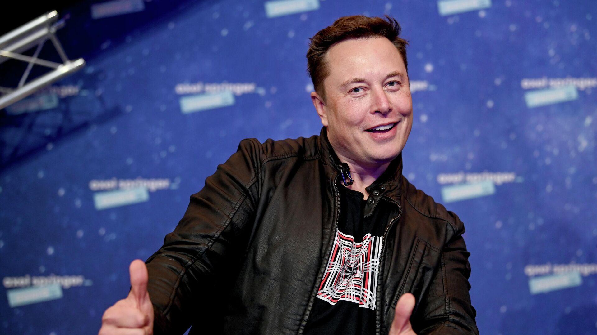 Владелец SpaceX и генеральный директор Tesla Илон Маск - РИА Новости, 1920, 05.04.2021