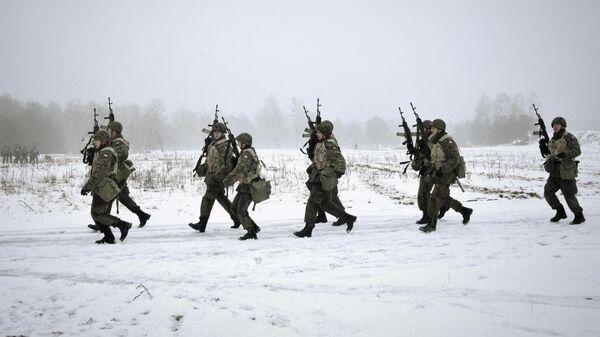 Польские военнослужащие