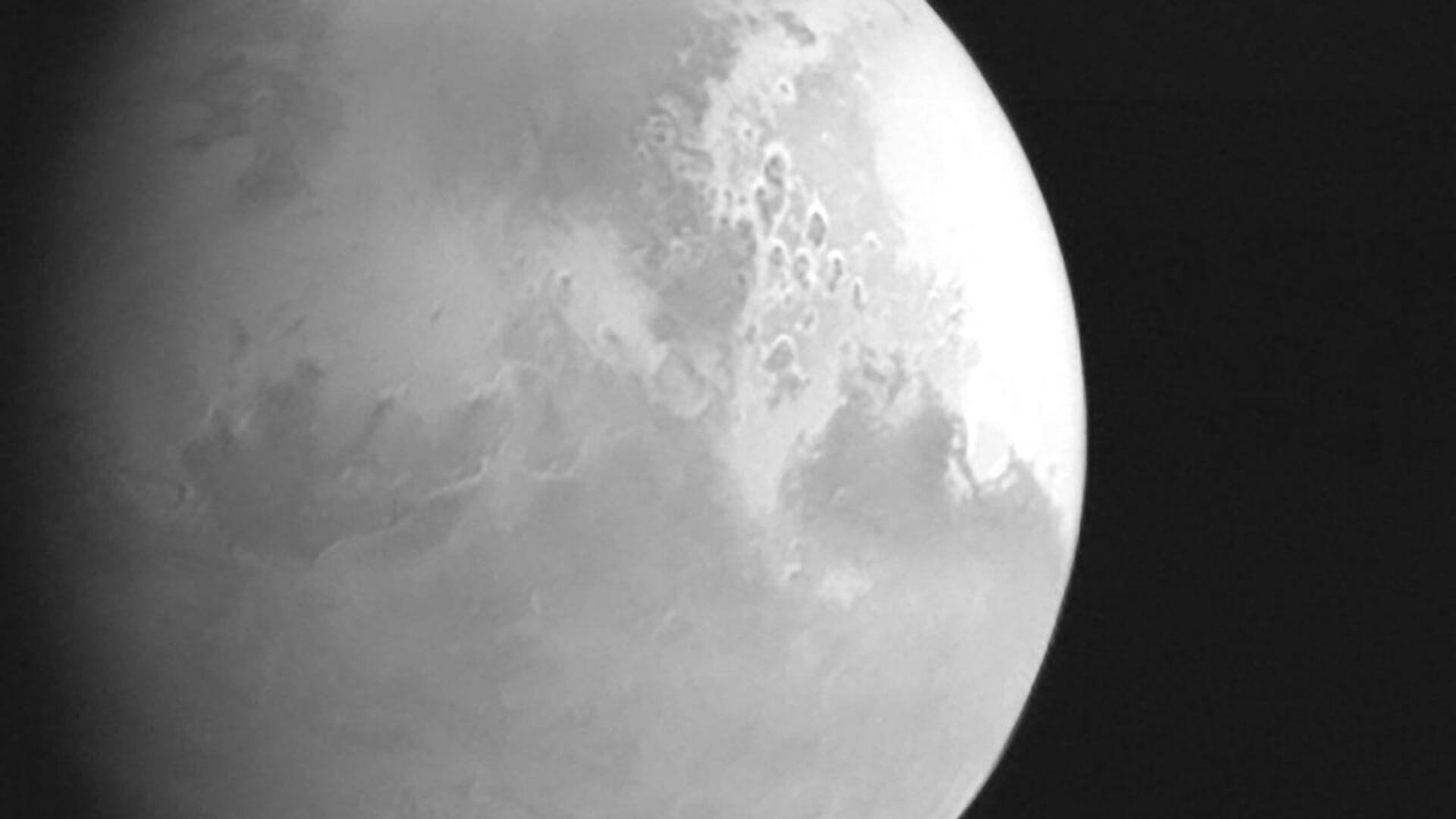 Первый снимок Марса с китайского зонда - РИА Новости, 1920, 27.02.2021