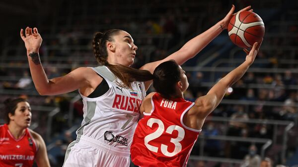 Баскетбол. Женщины. Квалификация Евробаскета-2021. Матч Россия – Швейцария