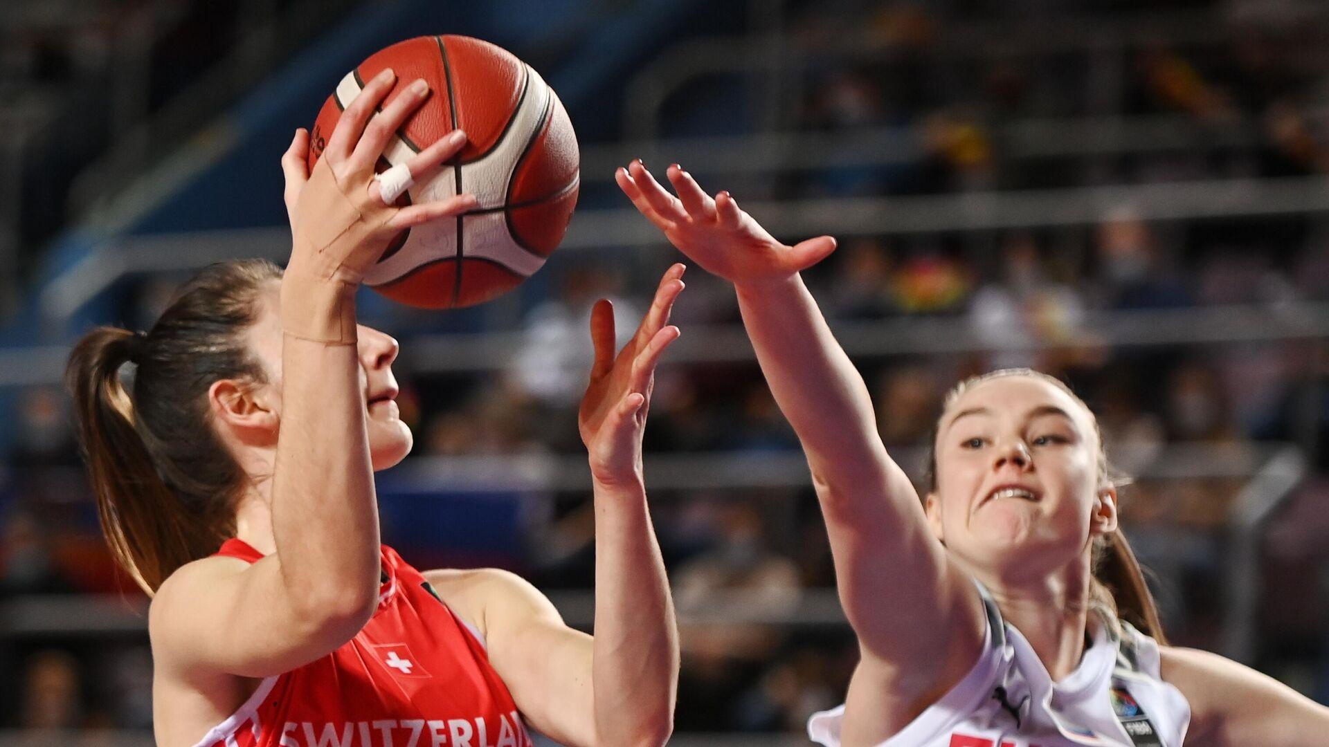 Баскетбол. Женщины. Квалификация Евробаскета-2021. Матч Россия – Швейцария - РИА Новости, 1920, 06.02.2021