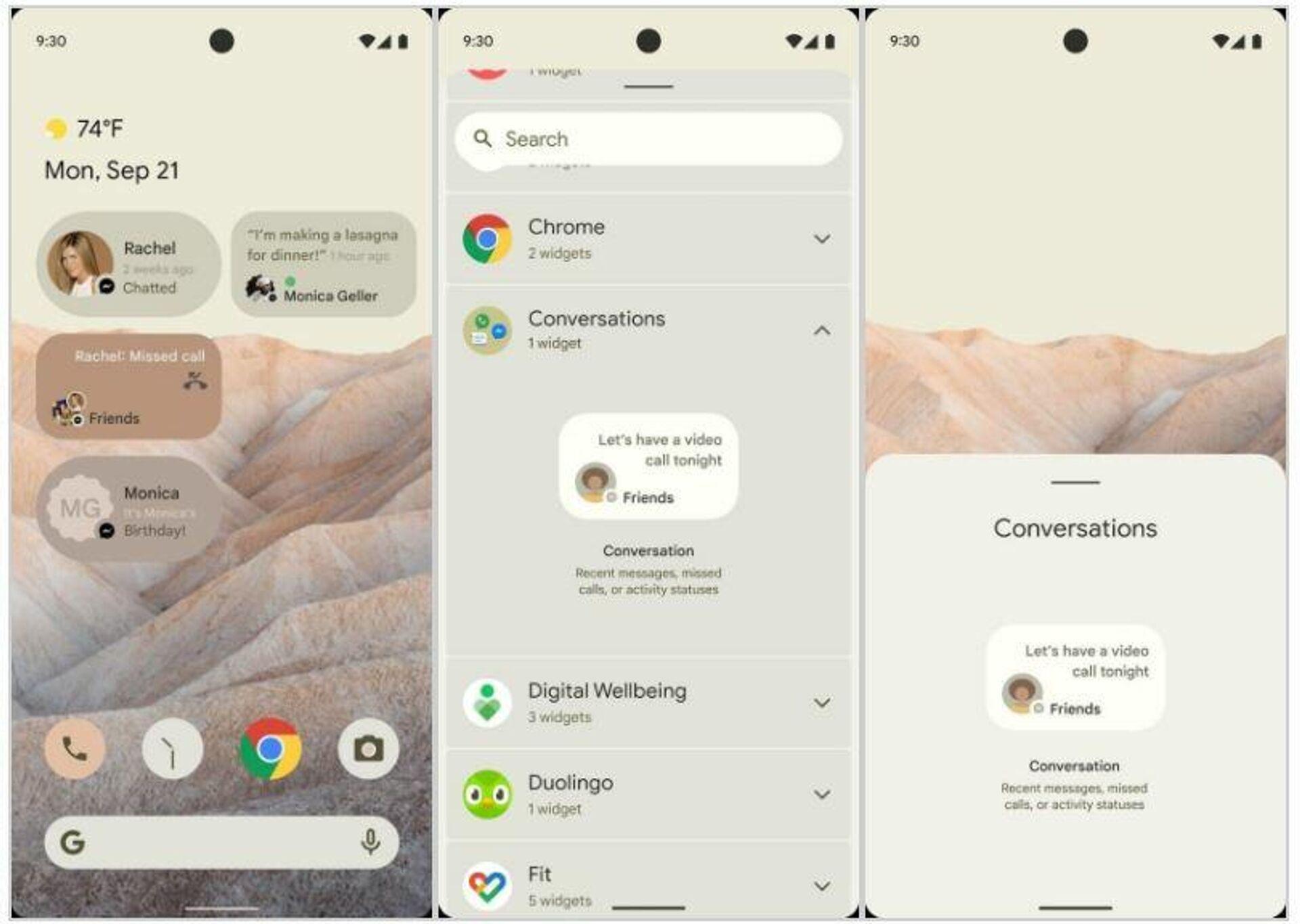 Android 12 получит новый интерфейс