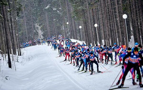 Участники Karelia Ski Fest