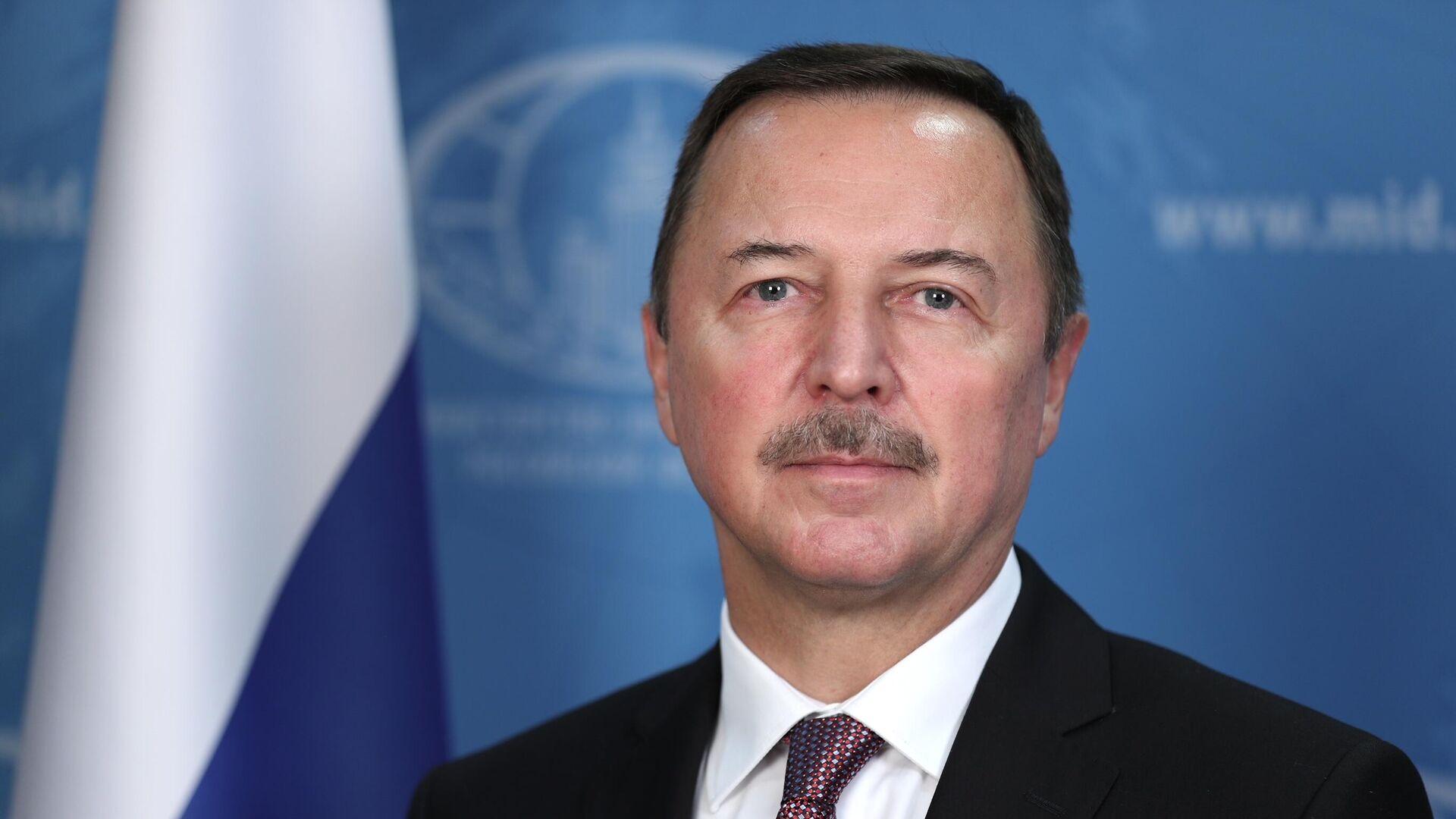 Посол РФ в Сирии Александр Ефимов - РИА Новости, 1920, 11.02.2021