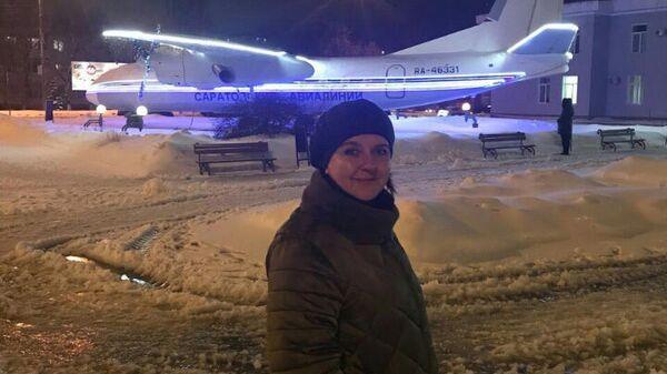 Бортпроводница авиарейса Москва-Орск Виктория Коваль