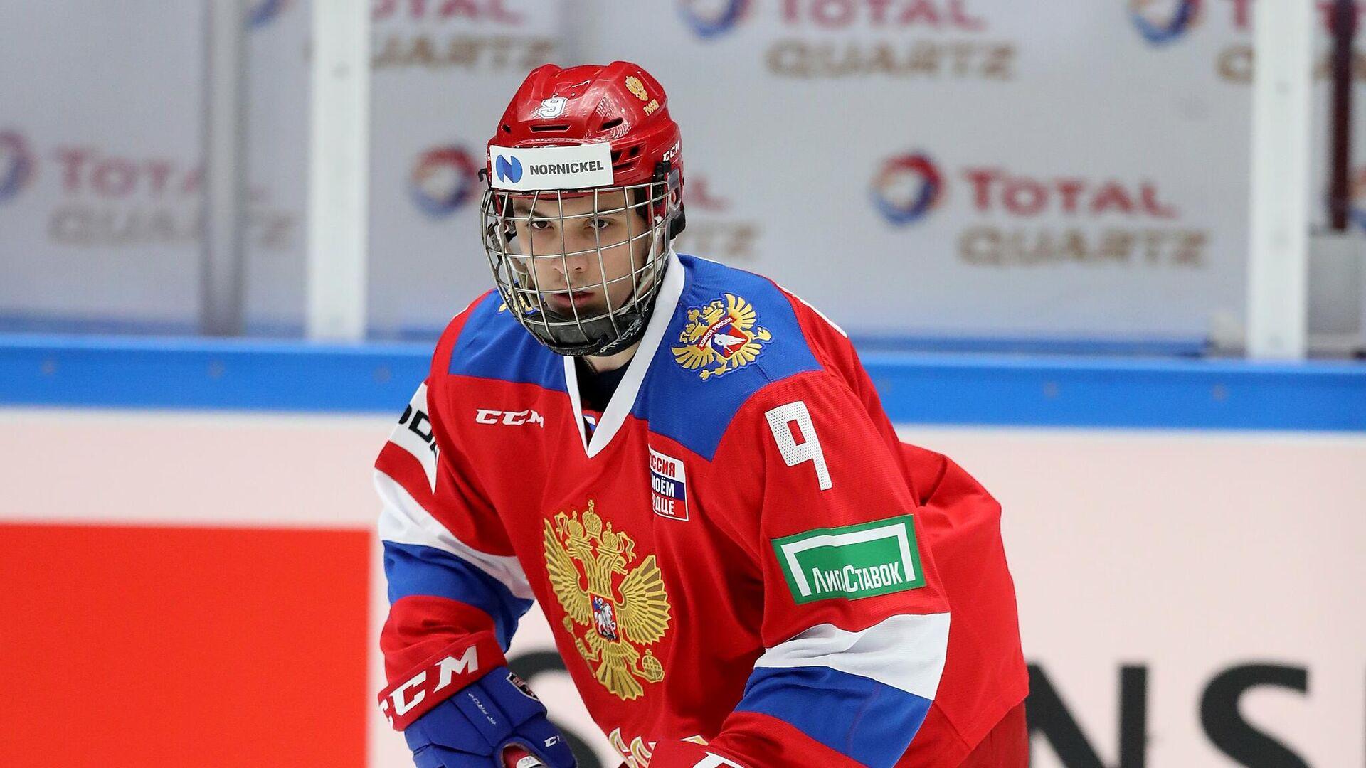 Хоккеист сборной России Никита Чибриков - РИА Новости, 1920, 22.04.2021