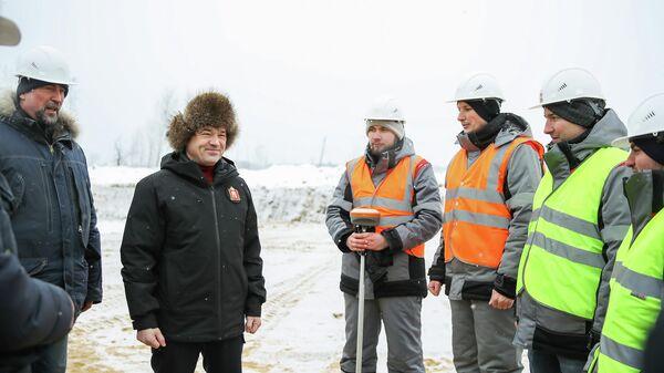 В Подмосковье начали строительство Северного обхода Лобни