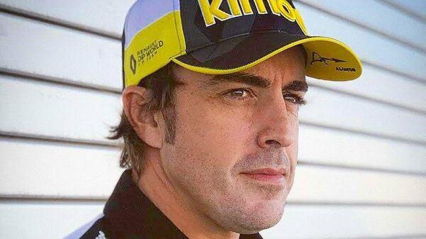 Двукратный чемпион Формулы-1 Фернандо Алонсо