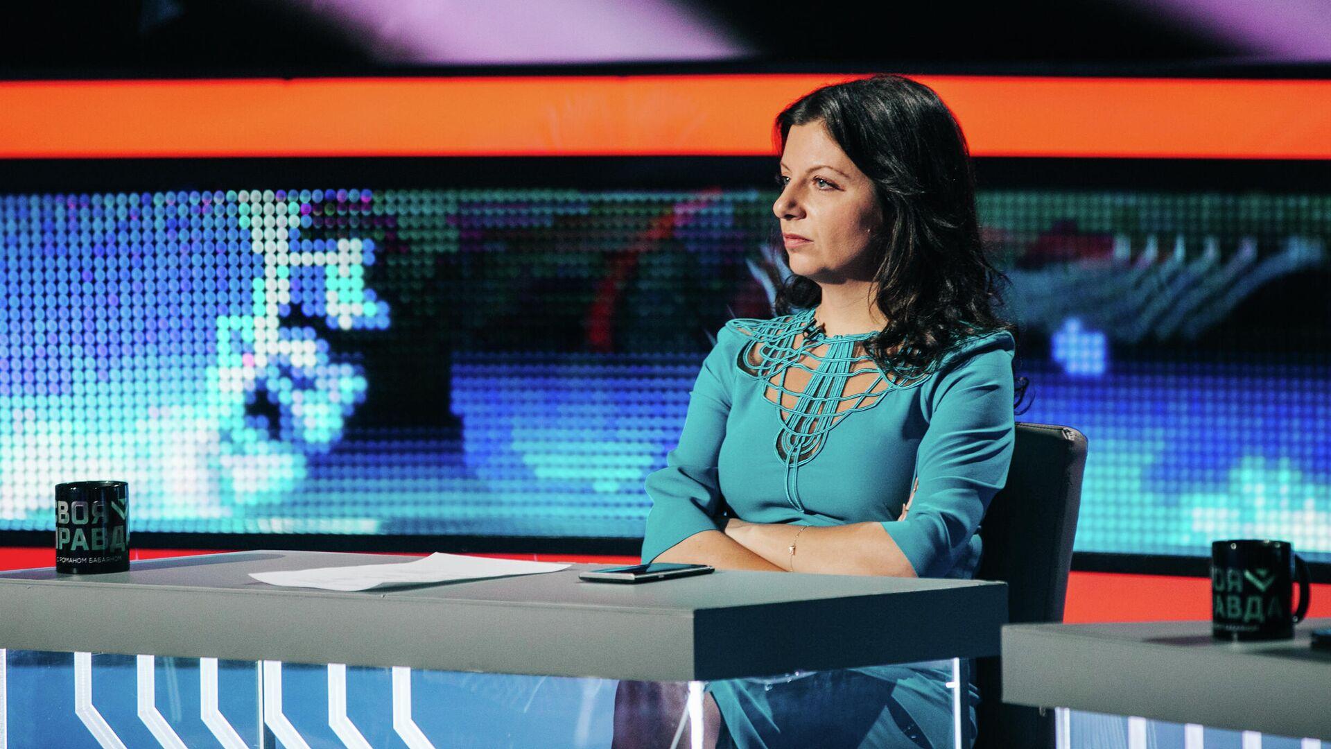 Главный редактор телеканала RT и МИА Россия сегодня Маргарита Симоньян - РИА Новости, 1920, 11.05.2021