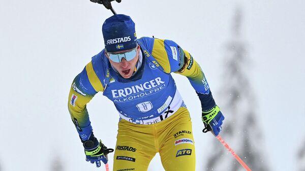 Биатлонист Мартин Понсилуома (Швеция)