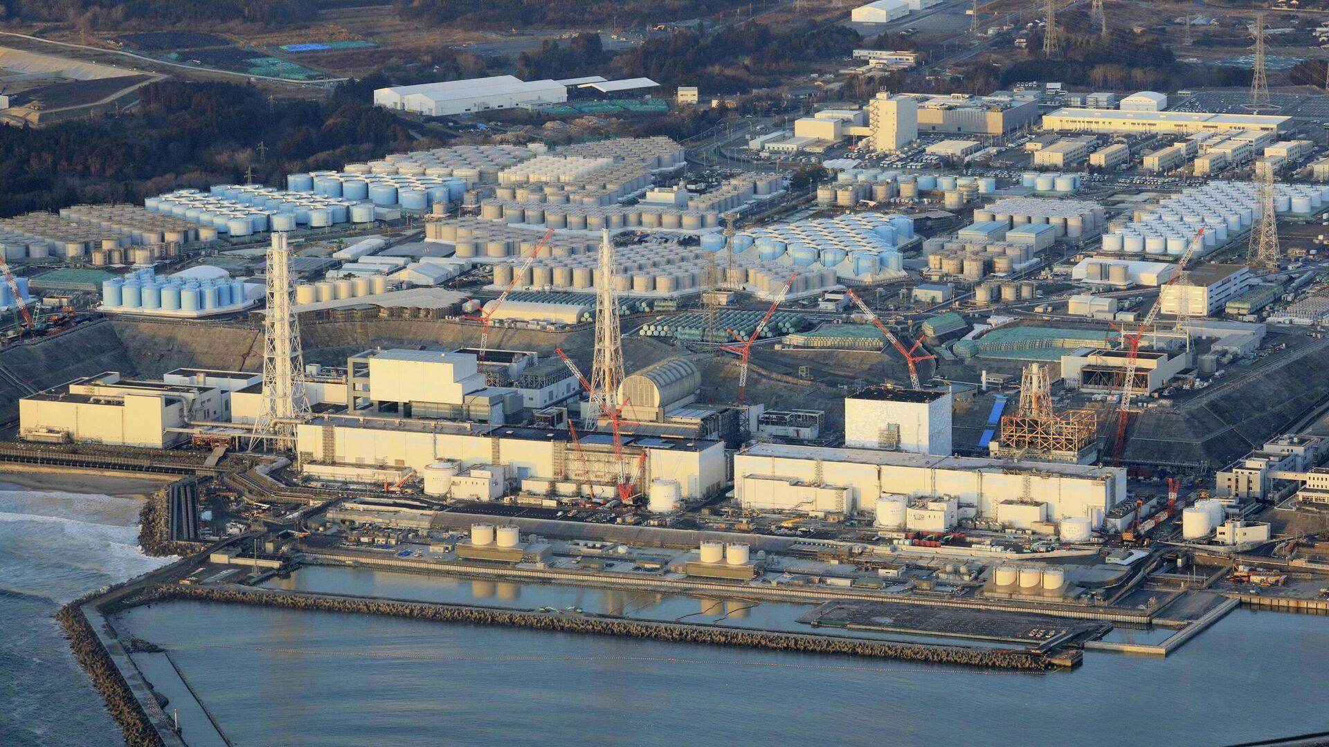 Атомная электростанция Фукусима-дайити в городе Окума, префектура Фукусима. 14 февраля 2021 года - РИА Новости, 1920, 26.02.2021