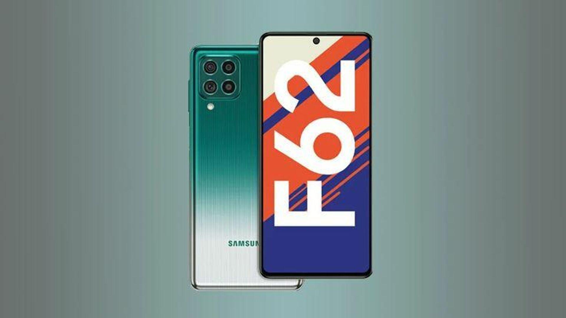 Samsung Galaxy F62 - РИА Новости, 1920, 16.02.2021