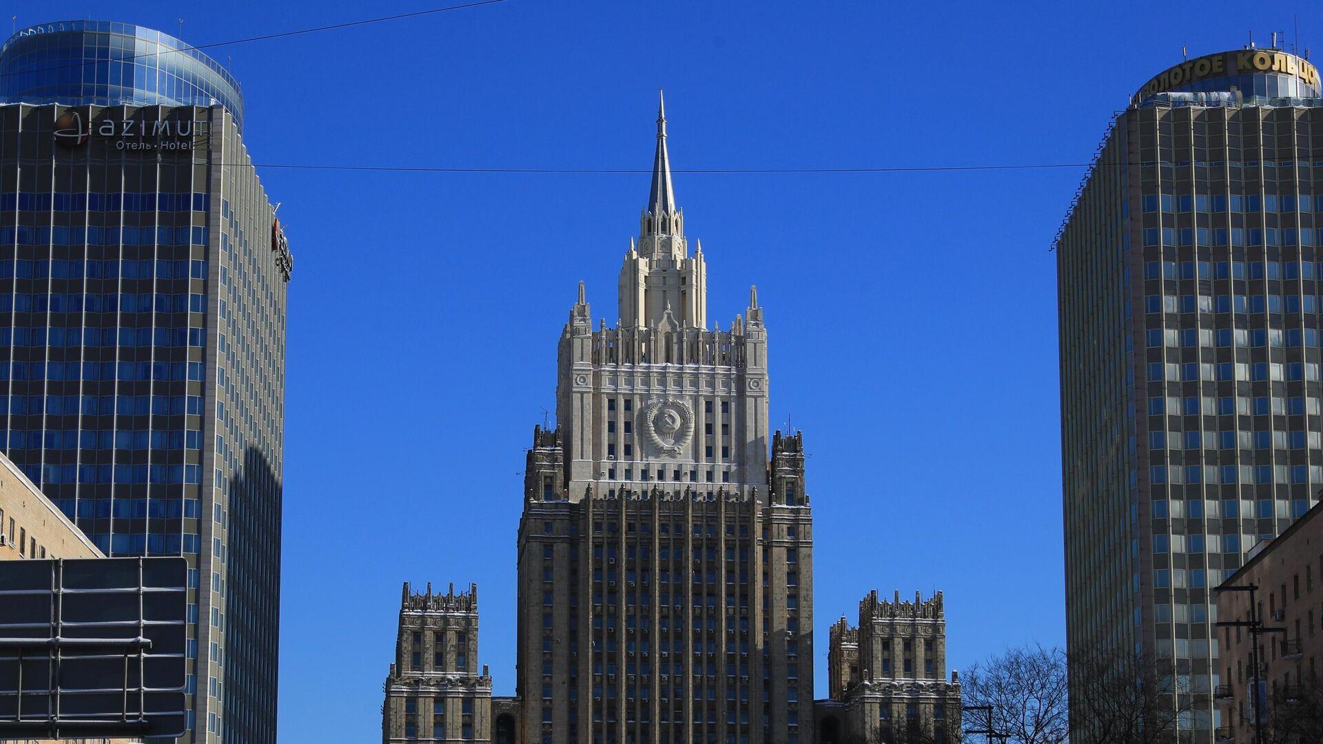 Здание Министерства иностранных дел РФ  - РИА Новости, 1920, 02.03.2021