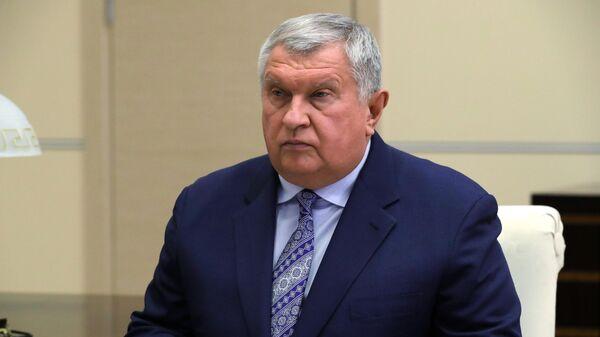 Директор, председатель правления, заместитель председателя совета директоров компании Роснефть Игорь Сечин