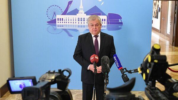 Специальный представитель президента РФ по сирийскому урегулированию Александр Лаврентьев