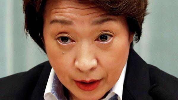 Министр по делам Олимпиады в Токио Сэйко Хасимото