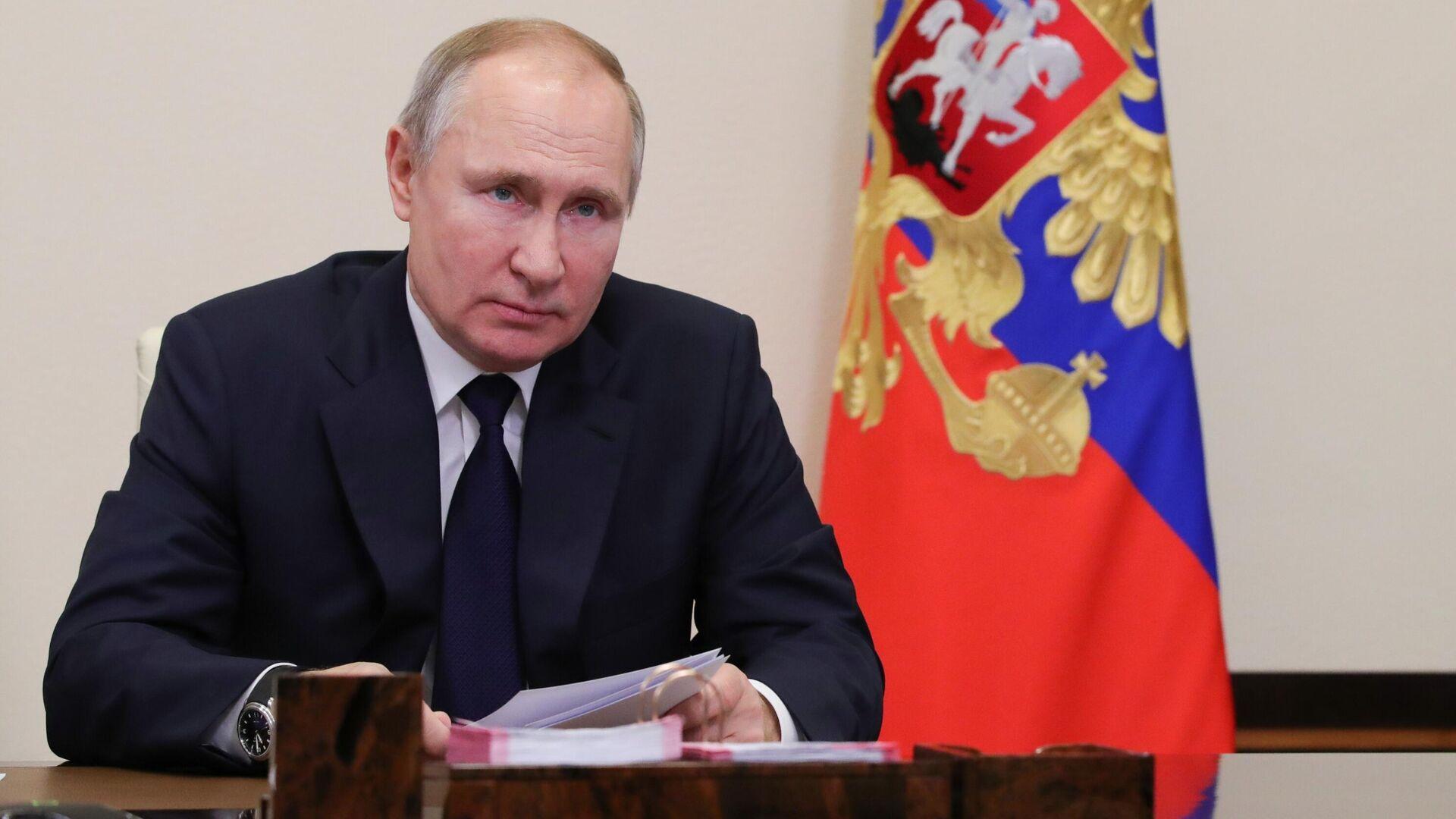 Путин проведет коллегию ФСБ в очном формате