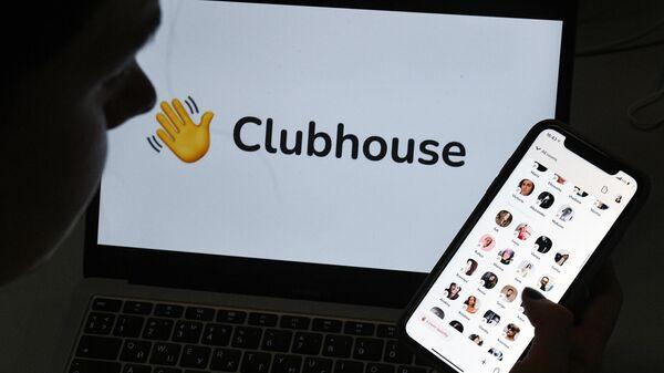 Логотип Clubhouse