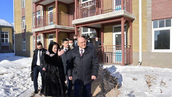 Рабочая поездка премьер-министра РФ М. Мишустина в Псковскую область