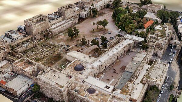 Трехмерная цифровая модель цитадели Дамаска