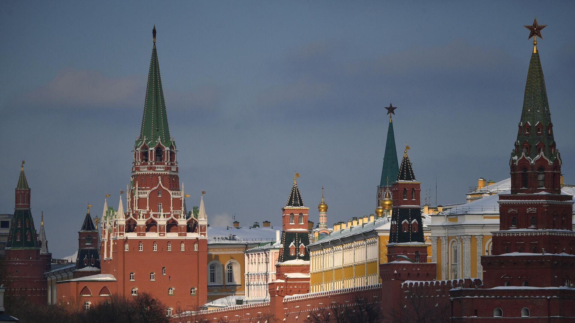 Московский Кремль - РИА Новости, 1920, 24.03.2021