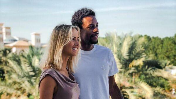 Теннисисты Элина Свитолина и Гаэль Монфис.