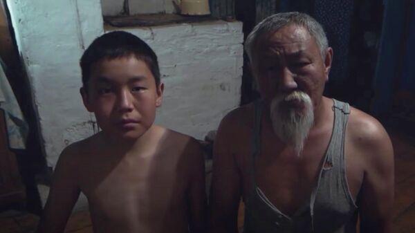 Кадр из фильма Костер на ветру