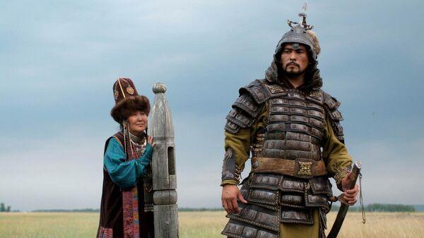 Кадр из фильма Тайна Чингис Хаана