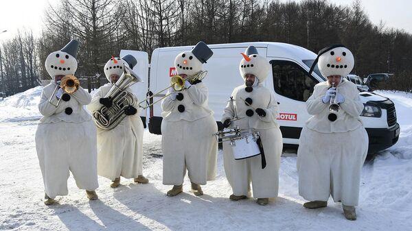 Автопробег Байкальская миля стартовал в Москве
