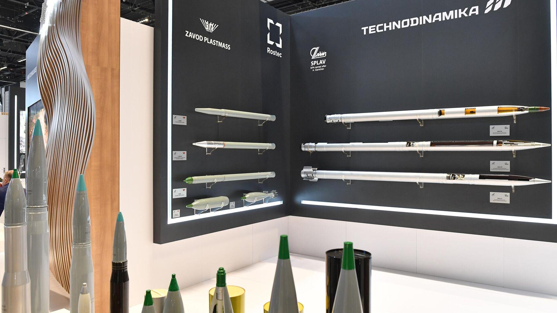 Стенд корпорации Ростех на выставке оборонной промышленности IDEX-2021 в Абу-Даби - РИА Новости, 1920, 10.04.2021