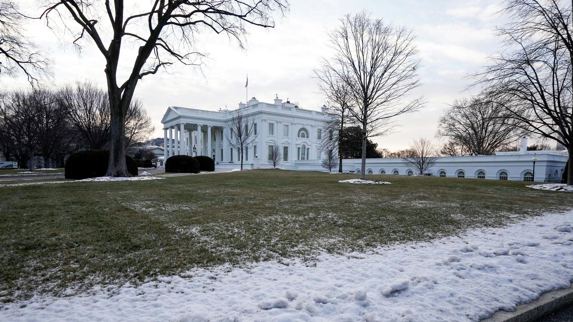 Здание Белого дома в Вашингтоне, США - РИА Новости, 1920, 28.02.2021