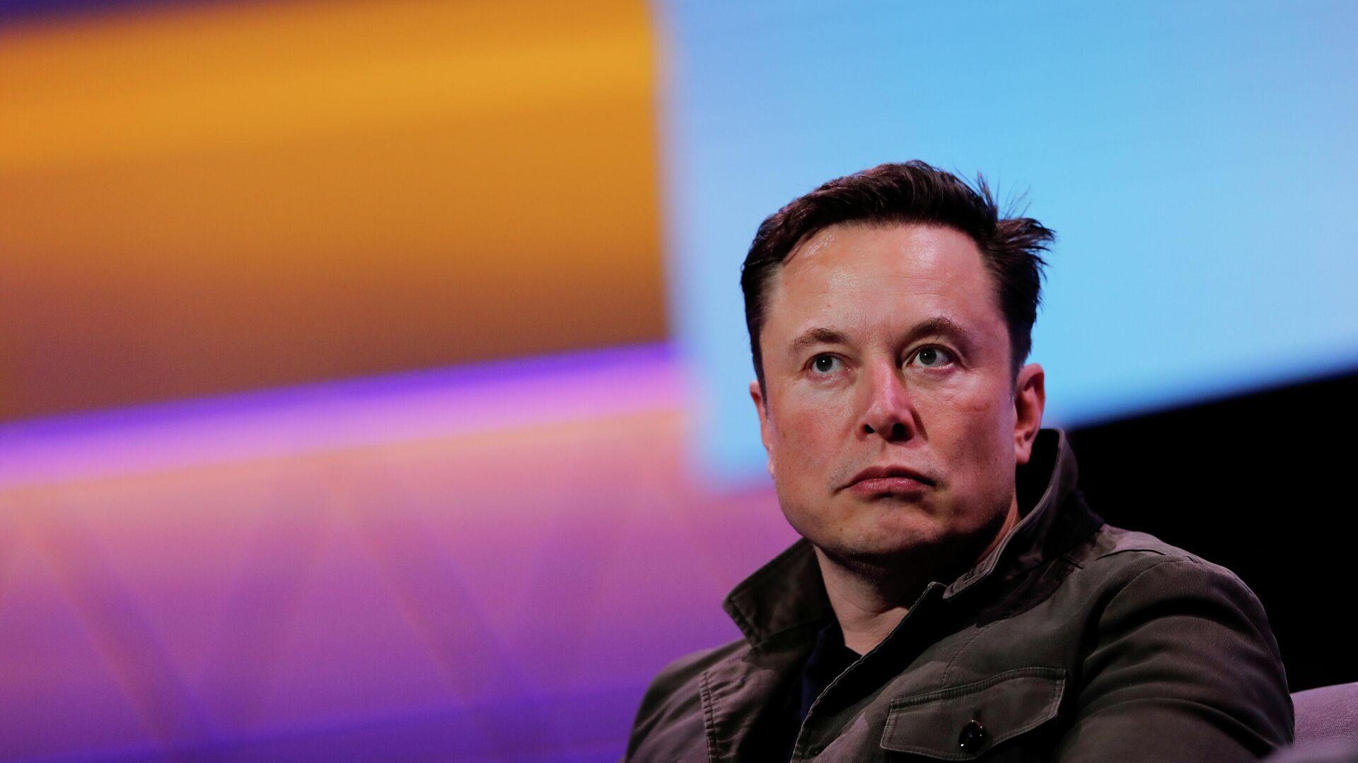 Генеральный директор Tesla Илон Маск - РИА Новости, 1920, 26.02.2021
