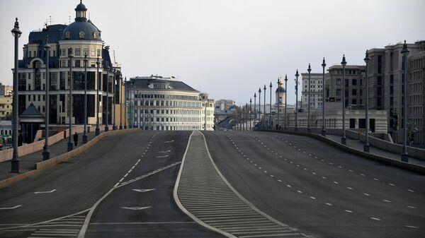 Большой Москворецкий мост в Москве