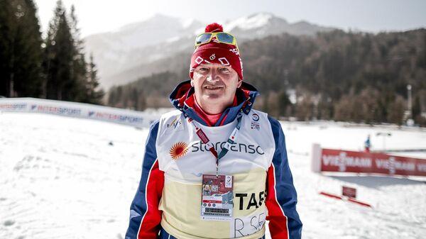 Тренер сборной России по лыжному спорту Маркус Крамер