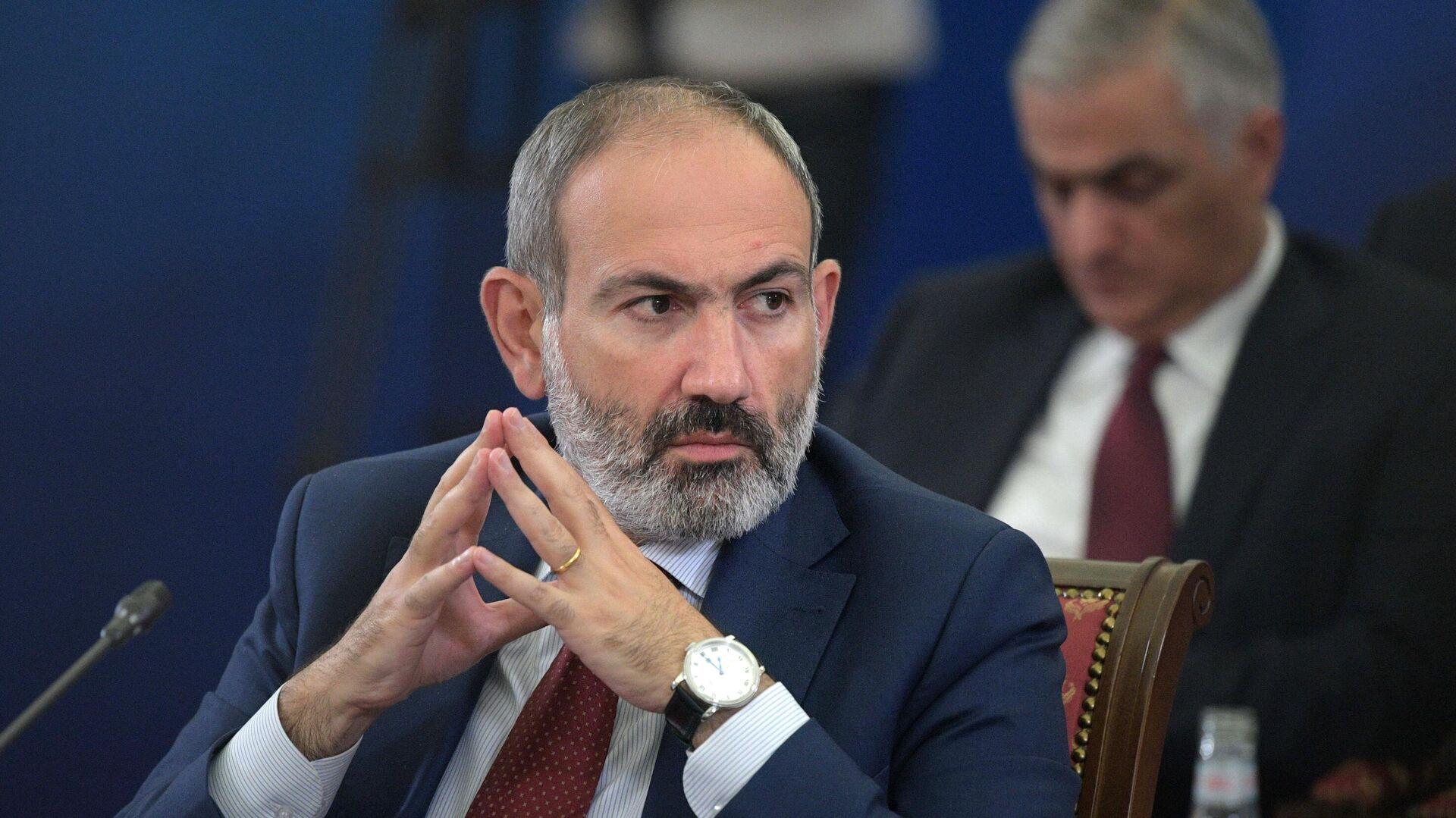 Премьер-министр Армении Никол Пашинян - РИА Новости, 1920, 21.03.2021